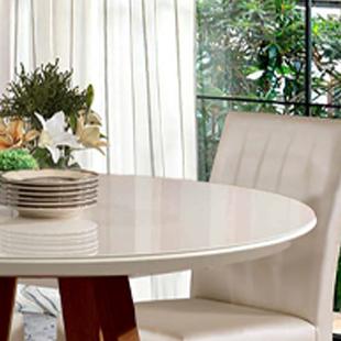 Tampo de mesa cor  Off white