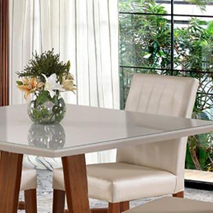 Tampo de mesa de quatro lugares grecia