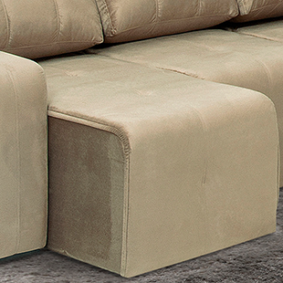 assento sofá tres e dois lugares rubi