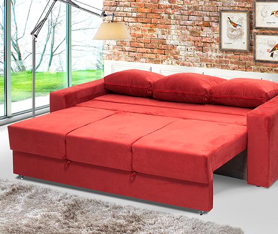 Sofá cama modelo summer personalizavel