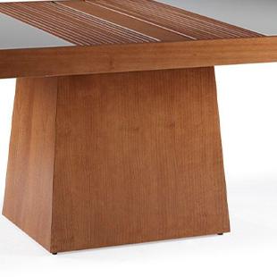 Base de mesa de jantar extensível