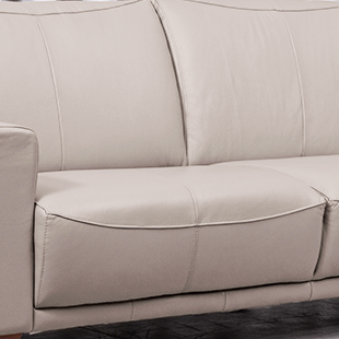 assento de Sofá de couro